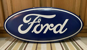 Ford Signs Metal Garage Bar Pub Gas Oil Car Auto Mustang Vintage Style Decor 30