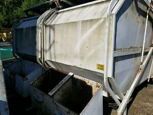 Curb Sorters And Small Trash Compactor Buyer Arranges Shipping