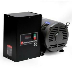 American Rotary Gentec Adx20hp 3 Phase Converter