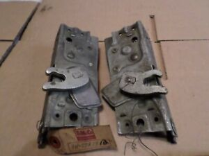 1949 Lincoln Nos Front Door Latch Locks 8h 7321812 3 Left And Right Pair