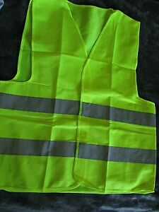 Neon Security Safety Vest high Visibility