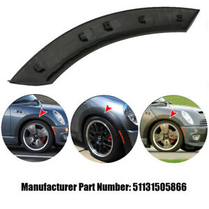 For Mini Cooper 02 08 Front Wheel Right Side Upper Fender Arch Cover Trim Black