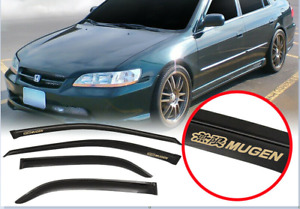 For 98 02 Honda Accord Sedan Window Visor Guard Deflector Rain Sun Vent