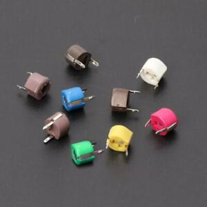 45pcs set Trimmer Capacitor Kit Assorted Adjustable Variable Capacitors New