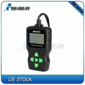 6v 18v Lcd Vehicle Digital Battery Test Analyzer Diagnostic Tool Multi fuction