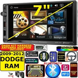 2009 2012 Dodge Ram Bluetooth Video Usb Aux Car Radio Stereo Package