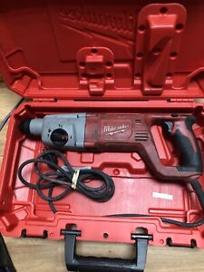 Milwaukee 1 In 120v Sds Plus Rotary Hammer Kit 5262 81 Recon