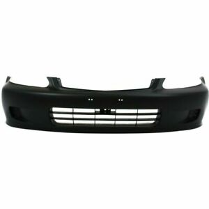 New Ho1000184 Front Bumper Cover Front Coupe Sedan For Honda Civic 1999 2000