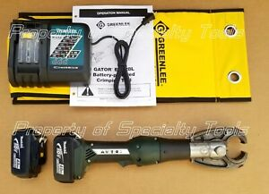 Greenlee Gator Ek628l 6 Ton Battery Hydraulic Crimper Cordless Crimping Tool Die