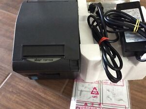 Star Tsp700ii Thermal Ethernet Pos Receipt Printer With Power Supply