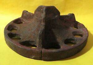 Vintage Industrial Machine Age Rusty Cast Iron Steampunk Robot Altered Art Lamp