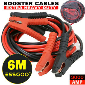 Heavy Duty 0 Gauge 20 Ft Battery Booster Cable Emergency Power Jumper 3000 Amp