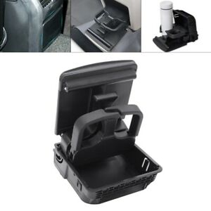 10x car Central Console Armrest Rear Cup Drink Holder Rear Vent Cup Holder H9q1
