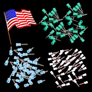 1000pcs Dental Rubber Prophy Polish Polishing Cups Brush Latch Type Colors