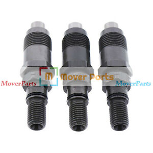 3x Fuel Injectors Am879688 For John Deere 4010 4100 4110 755 756 770 855 856