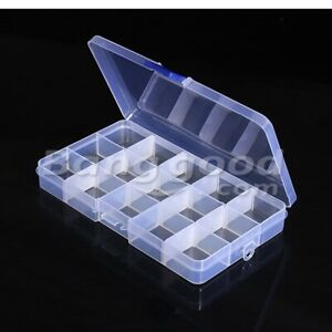 10pcs Geekcreit 15 Value Electronic Storage Components Assortment Box