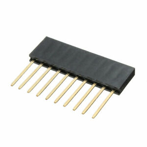 50pcs 10p 0 3 32in Stackable Long Connector Female Pin Header
