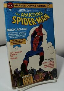 The Amazing Spider Man # 2 by Stan Lee Pocket 81444 1978 issues 7 13 $12.99