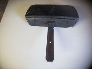 1969 Camaro Bent Shaft Bucket Seat Headrest Head Rest Dated