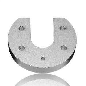 V6 Hot End Aluminum Alloy Groove Mount For 3d Printer Accessories