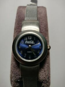 Vintage COCA COLA Watch By Fada with mesh band