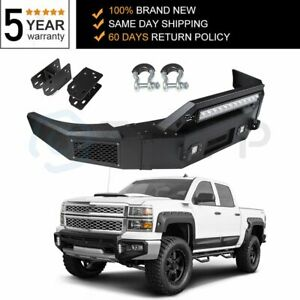 For Chevy Silverado 1500 Sierra 1500 2007 2008 2013 Steel Front Bumper Complete