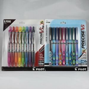 Pilot Precise V5 Deco Collection Rt 0 5mm Extra Fine 17 Pen Set