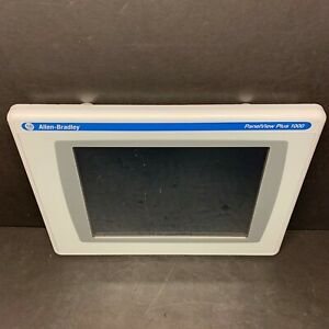 Allen Bradley 2711p rdt10c B Panelview Plus 1000 Display Color Touchscreen 2010