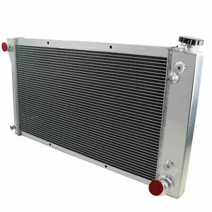3 Row Aluminum Radiator For 1967 1972 Chevy Gmc C K Series 10 20 30 Pickup Truck