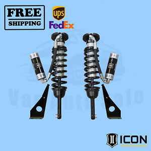 2010 2019 Toyota 4runner Travel Remote Reservoir Front Coilover Shock Kit Icon