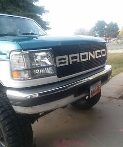 Ford Bronco Grill 92 96