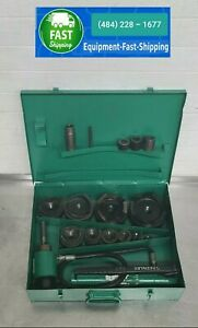 Greenlee 7310 Hydraulic Metal Knockout Punch Punches 6