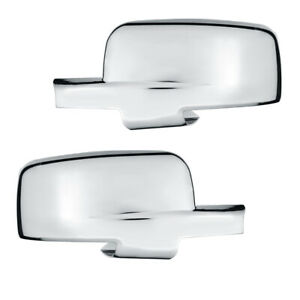09 12 Dodge Ram 1500 Mirror Cover With Turn Signal Triple Chrome Plated Abs