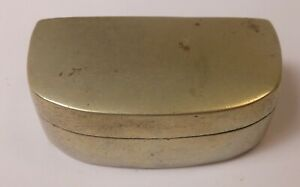 Great Antique Chinese Pahktong Brass Snuff