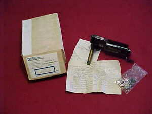 Nos United Technologies Electric Wiper Motor Wwf 12c17 720 S Marine Quality