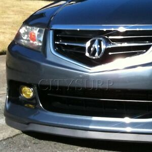 Universal Front Bumper Lip Chin Spoiler Body Kit For Honda Acura Civic Accord
