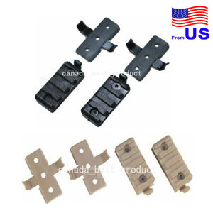 FMA Tactical Airsoft Plastic Mount Set for OPS Fast Style Helmet Rail USA $11.69