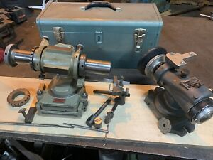 Tool And Cutter Grinder Universal End Mill And Form Relief Grinding Fixtures
