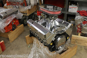 383 Stroker Sbc Crate Engine 505hp Est Roller Turnkey Pro Streetoption Chevy Nr