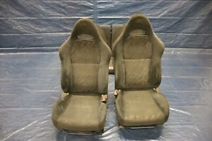 2002 04 Acura Rsx Type S K20a2 2 0l Oem Cloth Front Rear Seat Set 4445