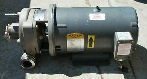 Ingersoll Rand Centrifugal Pump With 7 1 2 Hp Baldor Motor Waterfall Or Fountain
