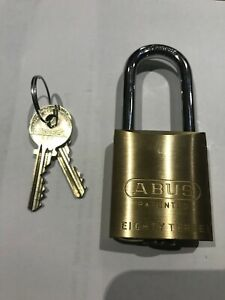 Abus 83 45 W A Medeco Cylinder 2 Shackle 2 Keys New High Security