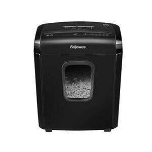 Fellowes Paper Shredder 6m5 Powershred Micro cut Deskside For Home