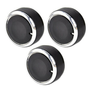 3pcs Air Condition Knob Car A c Heater Control Switch For 02 2014 Toyota Tacoma