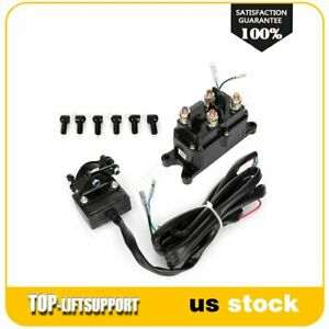 1 one 12v Contactor And Winch Combo Solenoid Relay Rocker Switch