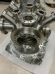 Stainless Steel Uhv Vacuum Chamber Nice Unit Great Shape