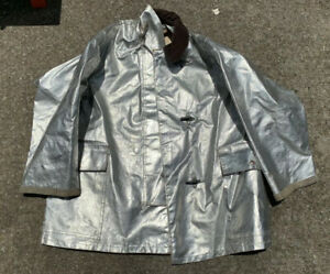 Globe Firefighter Aluminized Proximity Jacket Sz Large Heat Resistant Aramid