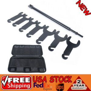 43420 Removal Tool Pneumatic Fan Clutch Wrench Set For Ford Gm Chrysler Jeep E