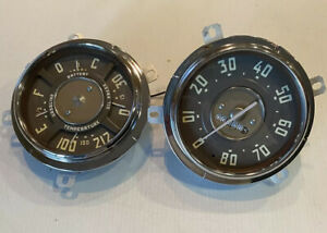 1949 1950 1951 1952 1953 Chevy Truck Speedometer Head Gauge Cluster Restored Oem