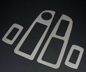 2005 2007 Chrysler 300 300c Dodge Charger Stainless Steel Window Switch Trim